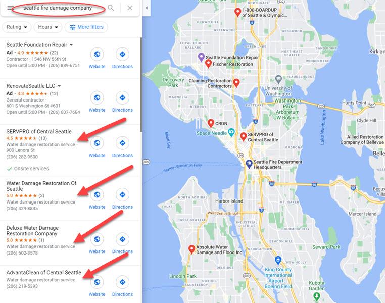 Seattle Google My Business